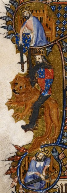 Detail Egerton MS 3277 Date 2nd half of 14th century  Title Psalter and Hours (the 'Bohun Psalter') f.68v