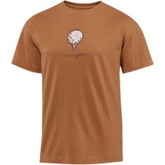 Life is Good Men's Crusher Tee, Golf Icon LIG, Copper, XX-Large by Life is Good. $23.99. This is our tried and true best friend, the classic Crusher tee. It's made to fade with a vintage, weathered look and has the ultimate durability and signature softness that put Life is good on the map.