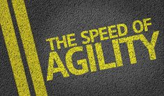 When we say let's be agile, everyone agrees. But let's remember the goal isn't to fail, it's just that if we do (and we will), let's find out about it sooner rather than later. But give it your best shot first, don't just throw out the first thing you think of in the spirit of speed.