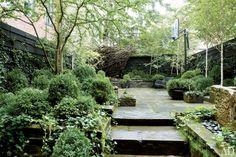 Julianne Moore's back garden