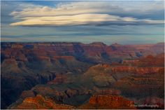 Clouds over the Grand Canyon   Don Smith Photography