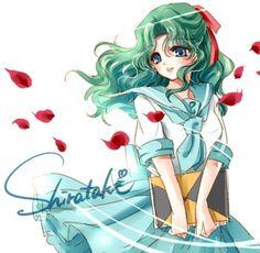 Michiru looks so beautiful in this as always