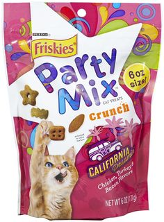 Friskies Party Mix California Dreamin' Crunch - 6oz *** Want to know more, click on the image.