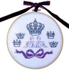 des-anges-et-des-couronnes-blanc-copie Tambour, Elsa, Coin Purse, Purses, Wallet, White Wreath, Circles, Crowns, Angels