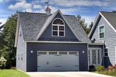 How Much Does a Detached Garage Cost? - The Complete Guide How much does it cost to build a detached garage? In this article, we break down all the factors that go into determining detached garage cost so you can plan property upgrades with confidence. Two Story Garage, 2 Car Garage Plans, Garage Plans With Loft, Garage Apartment Plans, Garage Apartments, Apartment Ideas, Above Garage Apartment, Apartment Layout, Apartment Design