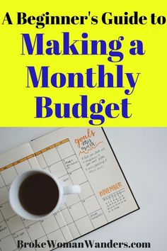 Creating a monthly budget for beginners can seem like a daunting task. But this guide makes budgeting for beginners simple! Living On A Budget, Family Budget, Frugal Living Tips, Frugal Tips, Budget Help, Create A Budget, Budget Binder, Monthly Budget, Monthly Expenses