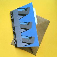 Barbican Balconies, as a print or a greetings card - visit my  #etsy shop 👀  etsy.com/uk/shop/SallyBradforth  #cards #brutalistprint #barbicancard #barbicanprint #barbicanart #londonarchitecture London Architecture, Barbican, Brutalist, Balconies, Say Hi, Digital Illustration, Your Cards, Greeting Cards, Notes