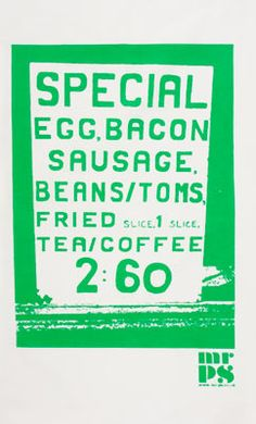 Was there ever a more glorious celebration of the full english breakfast? This mouth-watering ketchup-red tea towel is perfect for drying up after a Sunday morning hangover fry-up! Green Tea Towels, Bacon Sausage, Breakfast Tea, Big, Typo, Christmas Gifts, Fans, Graphic Design