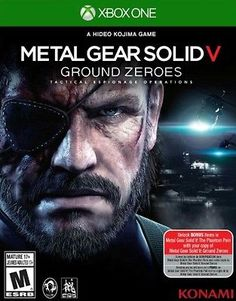 Buy Metal Gear Solid 5 on at Mighty Ape NZ. Metal Gear Solid V: Ground Zeroes for – Tactical Espionage Operations, a Hideo Kojima game. Ground Zeroes acts as a prologue to Metal Gear Solid . Jeux Xbox One, Xbox One Games, Ps4 Games, Playstation Games, Games Consoles, Arcade Games, Xbox 360, Metro 2033, Metal Gear Solid Ps4