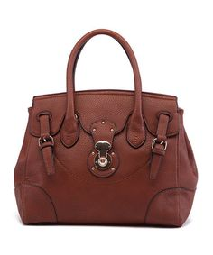 Another great find on #zulily! Coffee Lindsey Convertible Satchel by MKF Collection #zulilyfinds