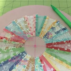 I love dresden blocks and if you do too... I'm going to show you something fun! When I designed my BLOOM set of Sew Simple...