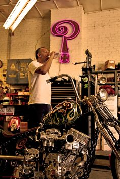 Chain Of Mystery - Indian Larry Chopper Motorcycle, Bobber Chopper, Motorcycle Art, Custom Choppers, Custom Motorcycles, Custom Bikes, Indian Larry, Bike Builder, Classic Harley Davidson