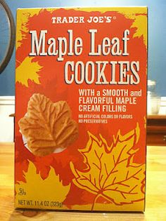 What's Good at Trader Joe's?: Trader Joe's Maple Leaf Cookies