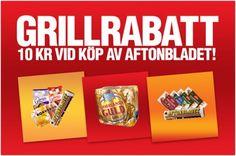 Hela Sverige grillar. Med Scan, Skogaholm och Norrlands Guld! | Kvällstidningarna