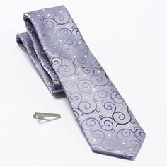 Apt. 9 Pyrite Vine Tie & Tie Bar Set - Men