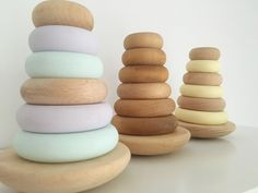 Image of Wooden Ring Stacker