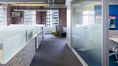 3M FASARA applied to glass partition