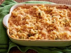 Broccoli Cheese Mac 'n' Cheese Recipe | Ree Drummond | Food Network