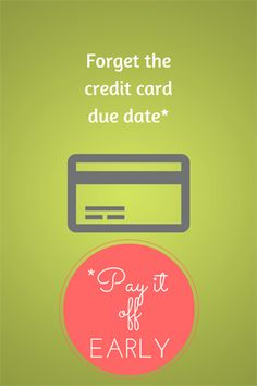 Reader Tip:  Pay Your Credit Card Bills Before They're Due