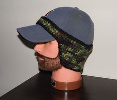 Ravelry: Baseball Cap Ear Warmer pattern by Jody Combs