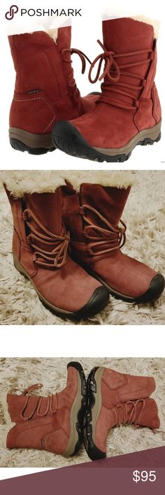 83c92a39 KEEN 52023 BRIGHTON WATERPROOF BOOTS Like new, worn once. Excellent  condition! Very soft
