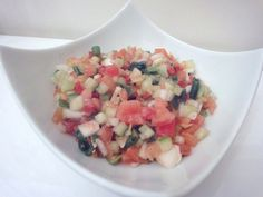 Salade fraîche à l'Israélienne