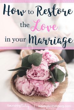 Do you feel unloved in your marriage? Perhaps it's the way your receiving love. Join us for the love test and how to restore love in your marriage.