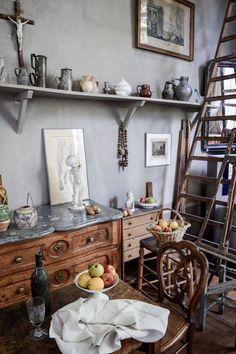 Aix-en-Provence Cézanne Studio | https://culturepassport.co/2016/magical-aix-en-provence/ #aixenprovence #france