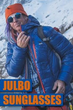 Julbo Vermont sunglasses are tough enough for mountaineers and stylish  enough for rock stars. f6ecc2db894f