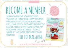 New Free Online Craft Magazine for Summer