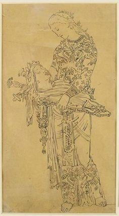 Gustave Moreau - studium - Orpheus