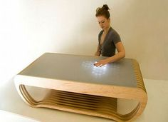 Great Examples Of Modern Furniture Design - I love things that do stuff when you touch them