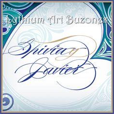 Logo de Bodas, Azul & Verde | Lythium Art®  Design by: Yil Siritt