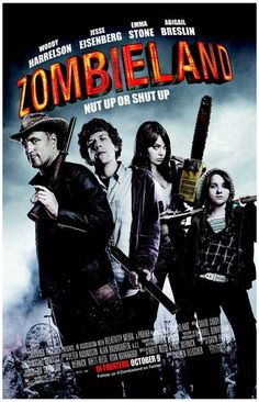 A fun 2009 zombie film with a star-studded cast! Zombieland, starring Woody…