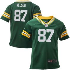 30cf8f6f0bf Jordy Nelson Green Bay Packers Nike Toddler Game Jersey - Green