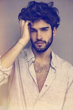 Men With Medium Length Messy Hair