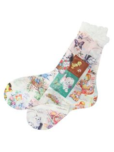 HANA TO GUITAR. birthday socks