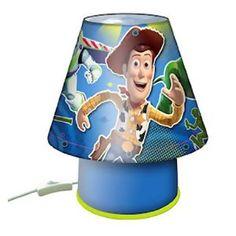 Disney Pixar Toy Story Childrenu0027s Bedroom Kool Lamp