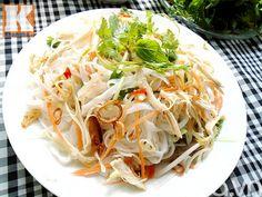 Bữa sáng hấp dẫn với phở gà trộn - http://congthucmonngon.com/106684/bua-sang-hap-dan-voi-pho-ga-tron.html