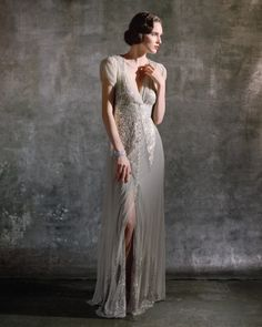 "Anna Sui for Bhldn ""Aiguille"" gown"
