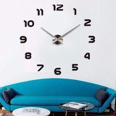 Fashion DIY Wall Clock-Red,Black,Gray,Blue,Pink,Silver,Gold,Multi,Chocolate   Ideas for men Awesome Home Dads Creative Offices Wall Art Style Posts Father Decor Cute Ideas Shops Mom How to make large numbers modern stairs website Design kit Products Desk With Photos Gift Ideas For Him Her Decorations Picture Buy For Sale online Shopping diy horloge murale cadeaux idées originales mode Achat Acheter en ligne Site de vente france USA Canada Australia