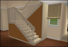 ModTheSims - Simple Structure Staircase