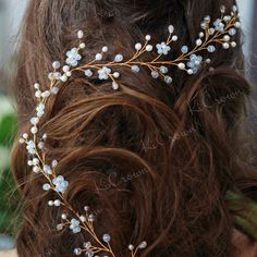 Vine with moonstone beads is very mysterious...faded-pale-blue shade Do not forget, the discount is 20%