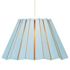 Compleated pendant lamp, baby blue, by &Bros.