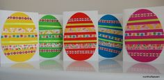 easy Easter card craft for your kids