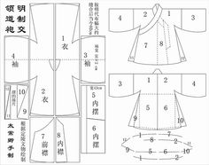 "Chinese costuming patterns, including detailed hanfu directions using modern techniques (due to 20"" limit on period looms)"