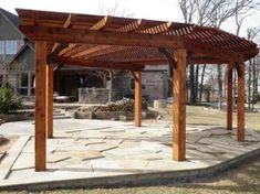 Southwest Fan Pergola