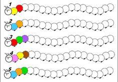 chenille algo couleur 5 Plus Preschool Kindergarten, Kindergarten Worksheets, Worksheets For Kids, Preschool Crafts, Preschool Colors, Math Games, Preschool Activities, Math Patterns, Shape Patterns