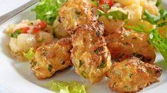 Syrové krokety Tofu, Potato Salad, Shrimp, Recipies, Potatoes, Meat, Chicken, Ethnic Recipes, Essen