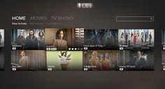 TV Streaming App Design on Behance
